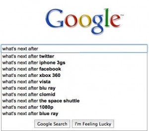 Whats next Google search